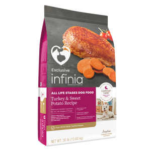 Infinia All Life Stages Turkey & Sweet Potato Dry Dog Food