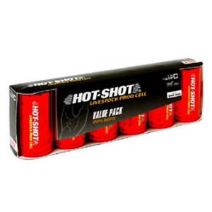 Hot Shot Alkaline Batteries 6-pack