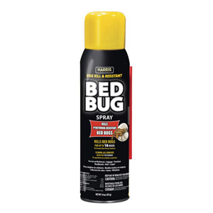 Harris® Black Label Toughest Bed Bug Aerosol Spray