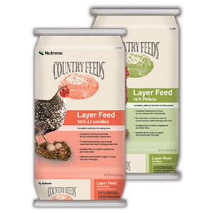 Nutrena® Country Feeds® Layer 16% Feed - Crumbles
