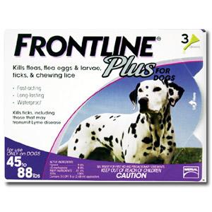 Frontline® Plus Dog Flea & Tick Treatment