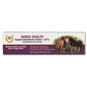 Horse Health Equine Ivermectin Paste 1.87%