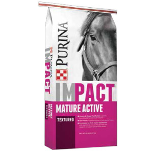Purina® Impact® Mature Active 10% Textured Horse Feed