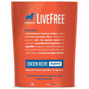 Dogswell® LiveFree® Chicken Puppy Food