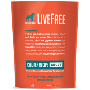 Dogswell® LiveFree® Chicken Adult Dog Food