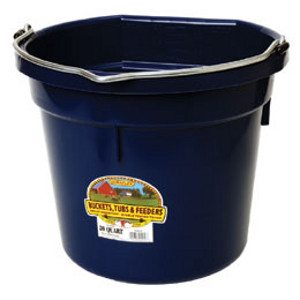 muck bucket and barn supplies