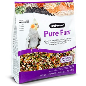 ZuPreem®Pure Fun™ Bird Food for Medium Birds