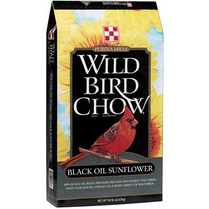 Purina Wild Bird Chow Black Oil Sunflower Seeds