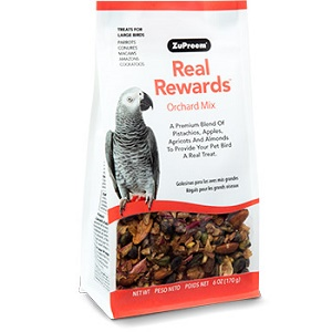 ZuPreem® Real Rewards™ Orchard Mix Treats for Large Birds