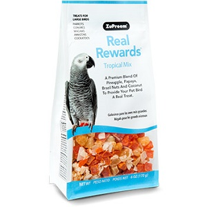 ZuPreem® Real Rewards™ Tropical Mix Treats for Large Birds