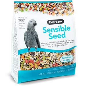 ZuPreem® Sensible Seed™ Bird Food for Parrots and Conures