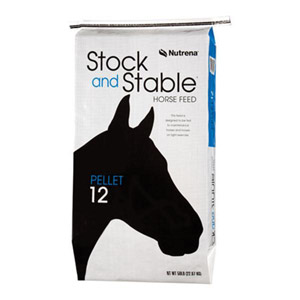Stock and Stable 12% Pelleted Horse Feed