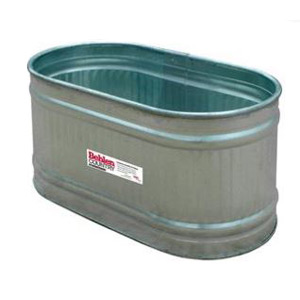 Behlen Country 2' x 2' x 4' Round-End Galvanized Tank