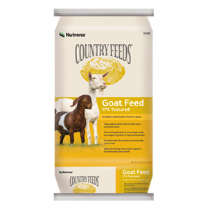 Nutrena® Country Feeds® 17% Textured Goat Feed