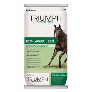 Triumph® 12% Textured Horse Feed