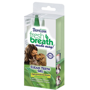 TropiClean® Fresh Breath Plaque Remover Clean Teeth Gel