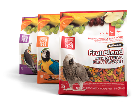 FRUITBLEND® WITH NATURAL FRUIT FLAVORS