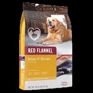 Red Flannel Bites n Bones Dry Dog Food