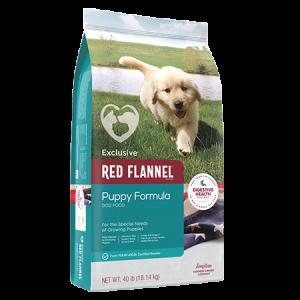 Red Flannel Puppy Formula Dry Dog Food