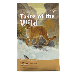Taste of the Wild Canyon River Grain Free Dry Cat Food