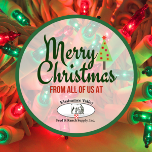 Closed Christmas Day | Kissimmee Valley Feed