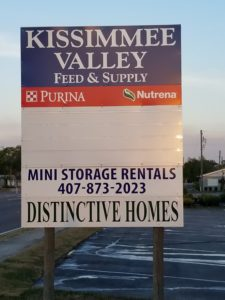 Second Kissimmee Valley Feed Location