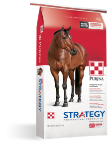 Purina Strategy Horse Feeds Product Updates