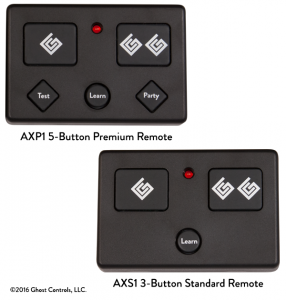 Ghost Controls Remote Transmitters
