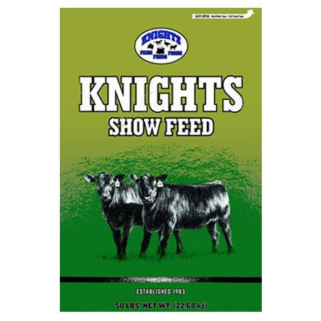 Knights Show Feeds Bag